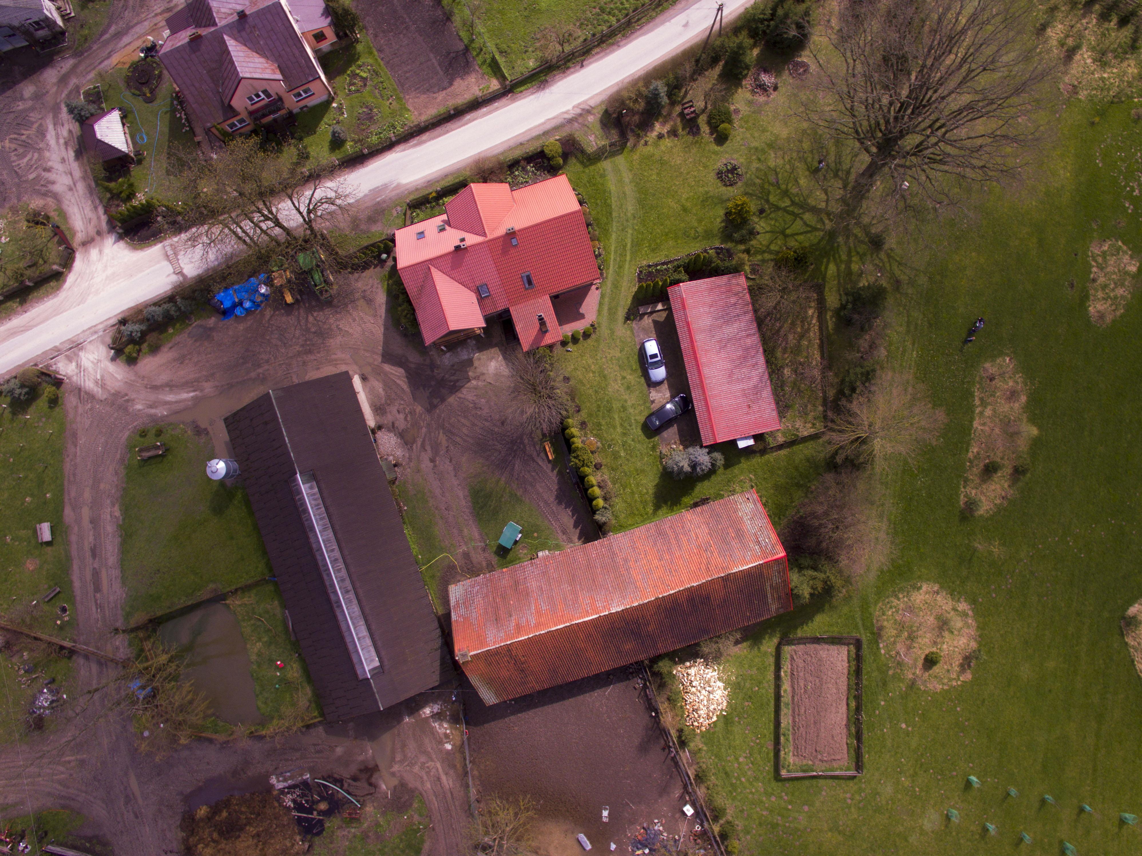 Zdjęcie ukta z drona