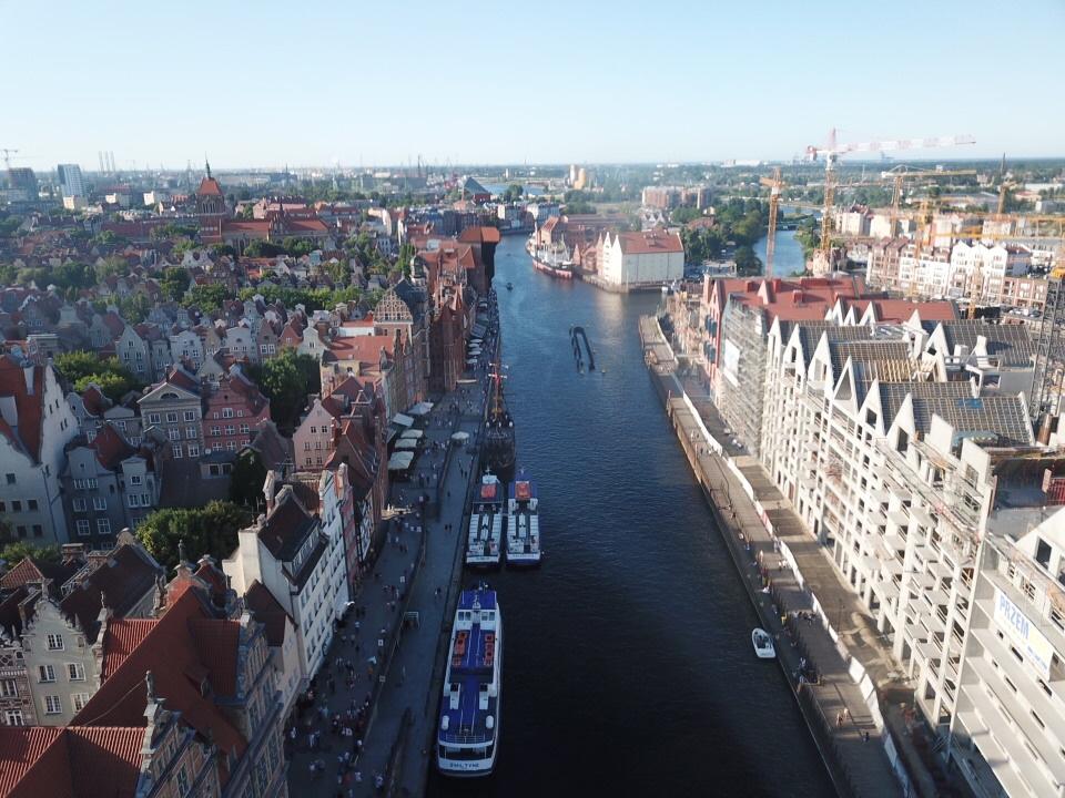 Gdańsk dron