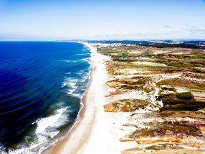 prześwietlone zdjęcie z portugalskiego Peniche